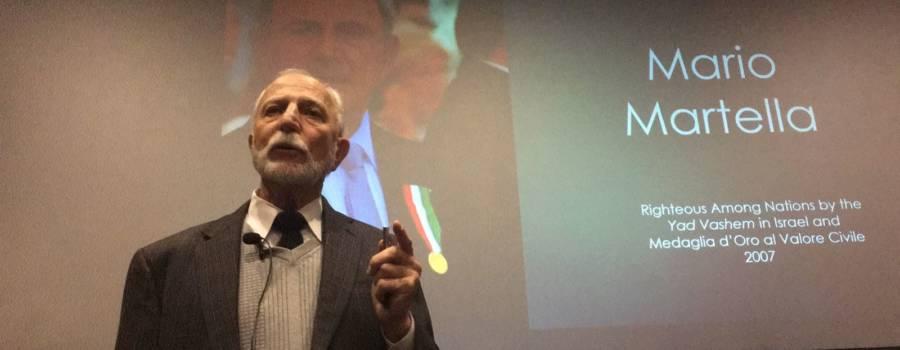 Conversazione sugli<br/>atti eroici della II guerra mondiale a Vicenza